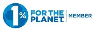 1% For Planet Logo