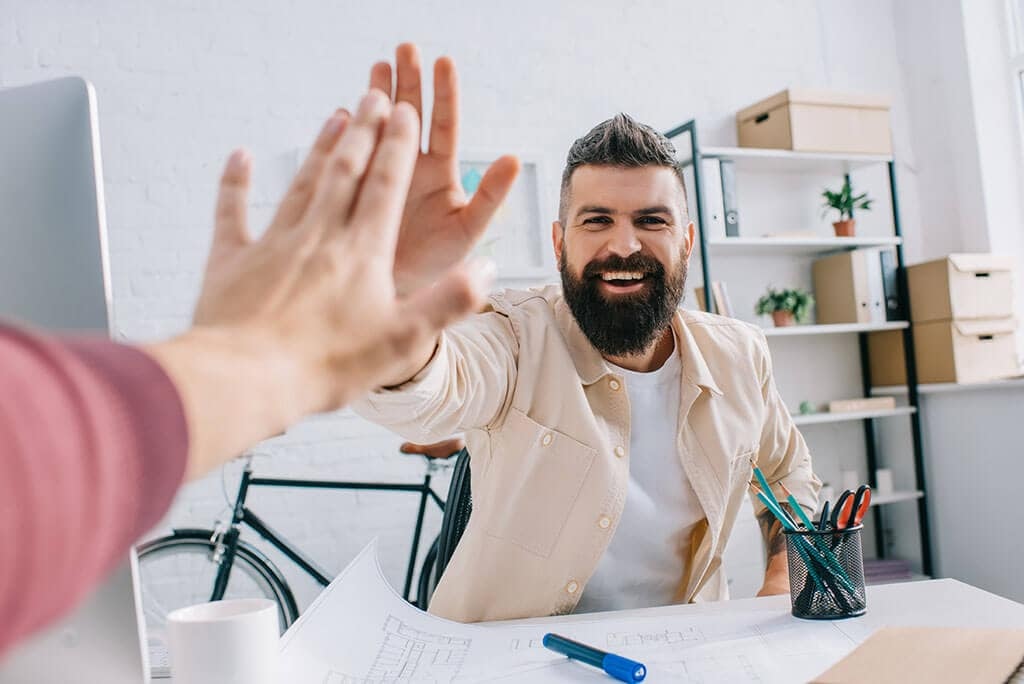 Getting A High Five - Working at Email Marketing Agency