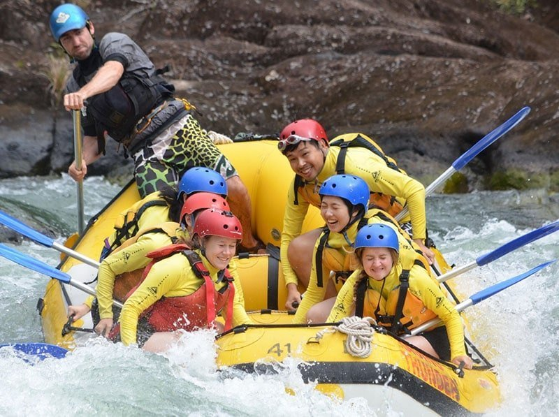 travel email marketing results white water rafting
