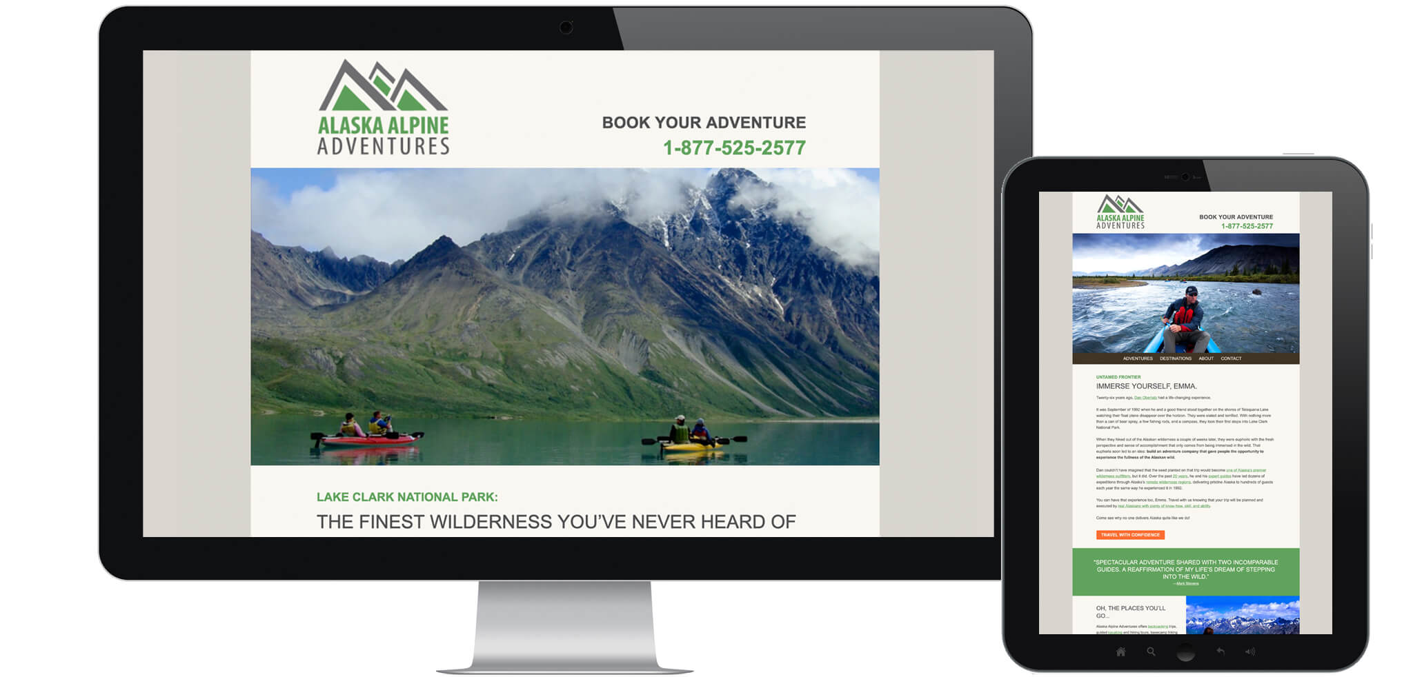 Book an Alpine Adventure - Travel Email Marketing