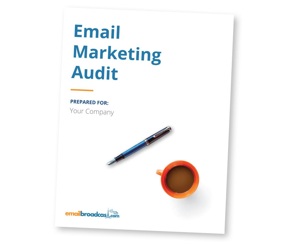 Email Marketing Audit Cover Sheet