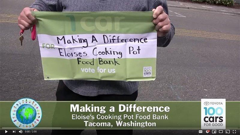 Eloise's Cooking Pot Video