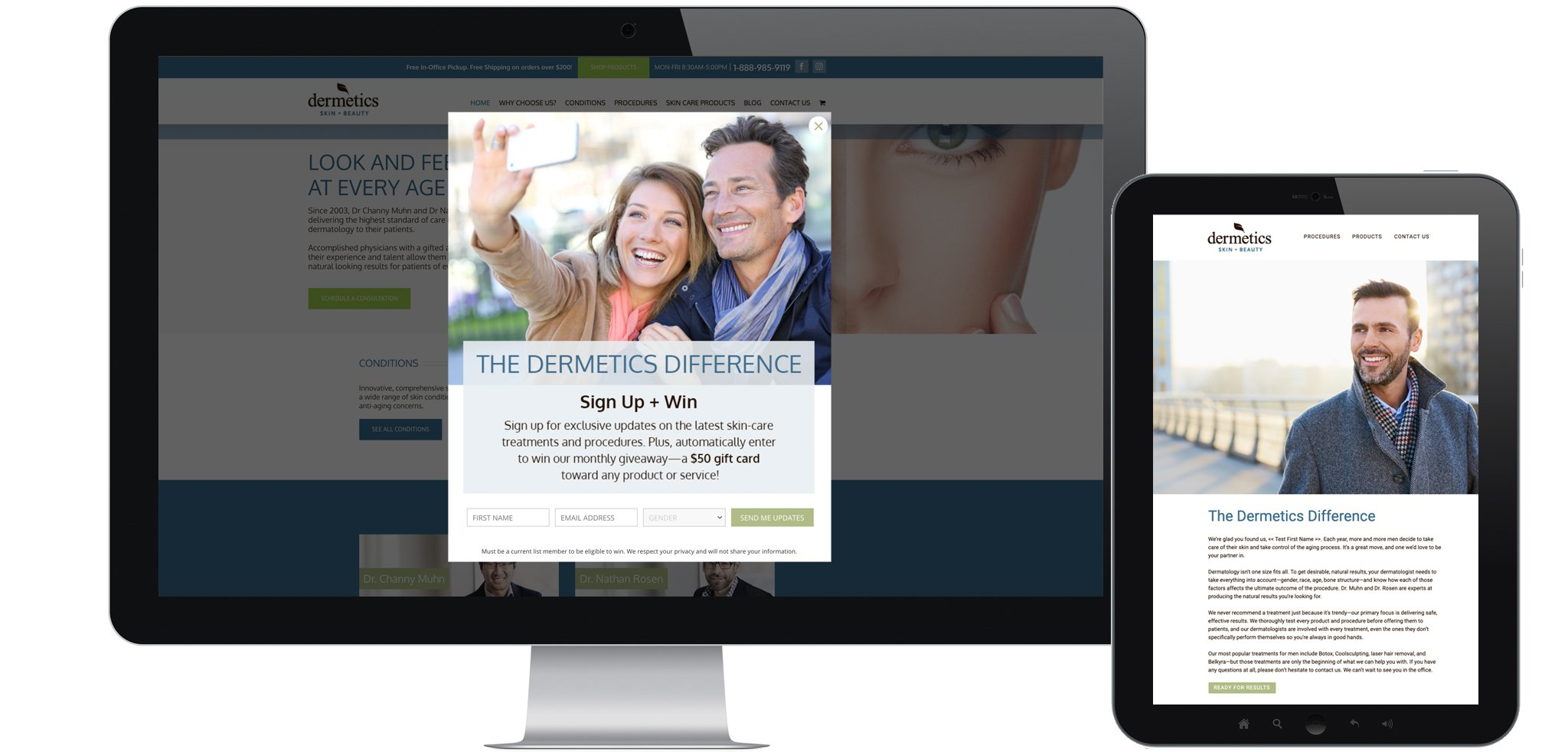 Dermetics Success Story Banner