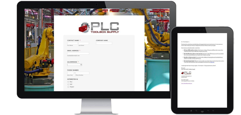 PLC Toolbox Supply Header