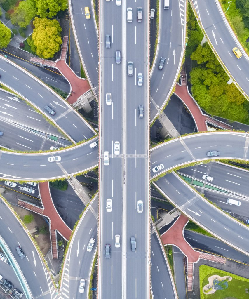 highway interchange complex like a full-service email marketing agency