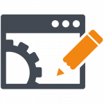 email campaign management automation icon