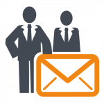 email campaign management icon