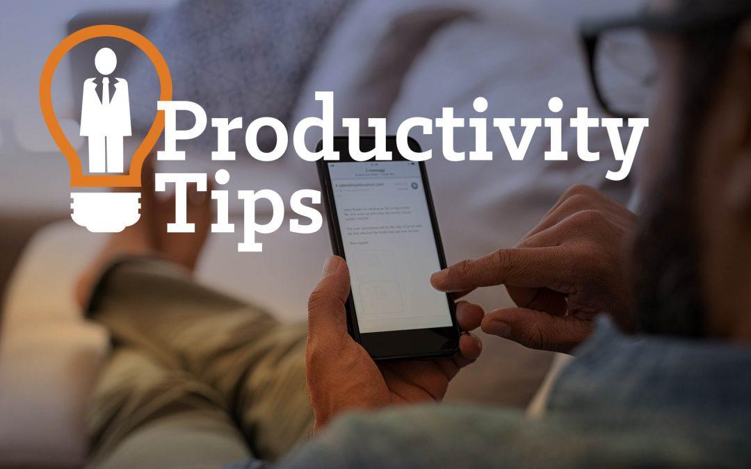 Email Marketing Agency Productivity Tips