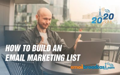 How To Build a Email Marketing List