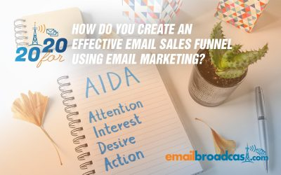 How Do You Create an Effective Sales Funnel Using Email Marketing?