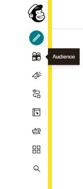 how to use mailchimp audience toolbar view