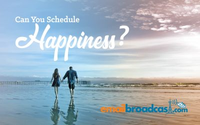 Can You Schedule Happiness?