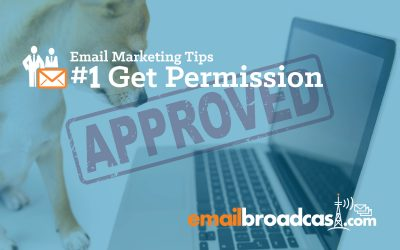 Email Marketing Tips: #1 Get Permission