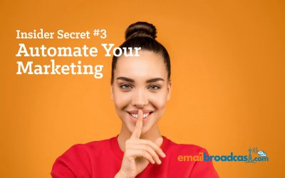 Insider Secret #3 – Automate your marketing