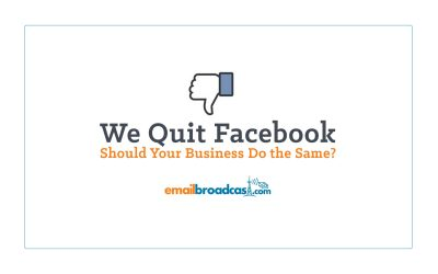We quit Facebook. Should your business do the same?