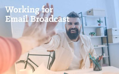 Working for Email Broadcast